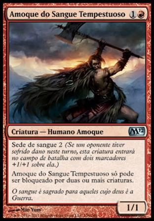 Amoque do Sangue Tempestuoso / Stormblood Berserker