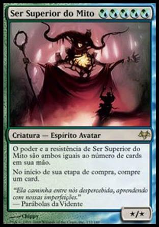 Ser Superior do Mito / Overbeing of Myth