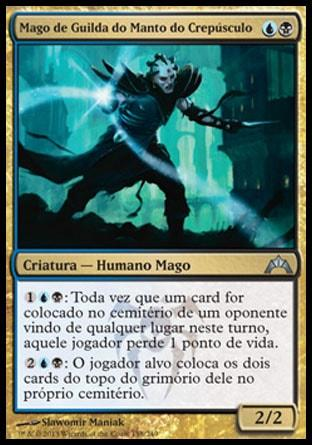 Mago de Guilda do Manto do Crepúsculo / Duskmantle Guildmage