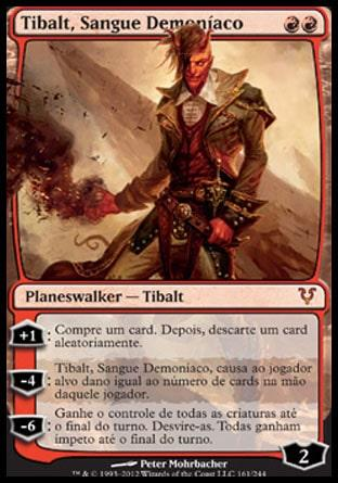 Tibalt, Sangue Demoníaco / Tibalt, the Fiend-Blooded