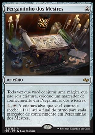 Pergaminho dos Mestres / Scroll of the Masters