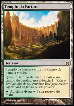 Templo da Fartura / Temple of Plenty