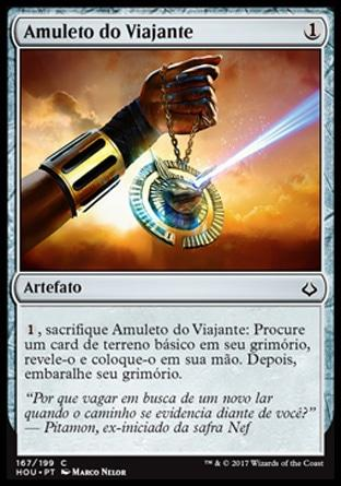 Amuleto do Viajante / Traveler's Amulet