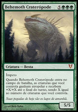 Behemoth Craterópode / Craterhoof Behemoth