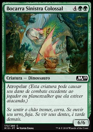 Bocarra Sinistra Colossal / Colossal Dreadmaw