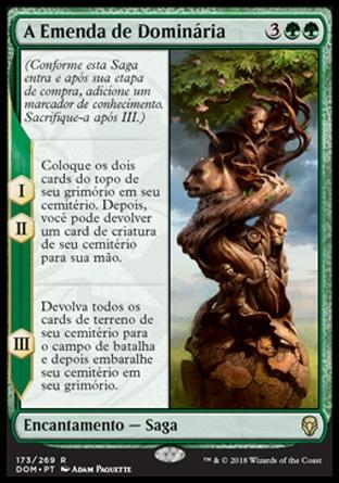 Emenda de Dominária / The Mending of Dominaria