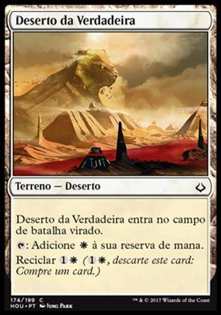 Deserto da Verdadeira / Desert of the True