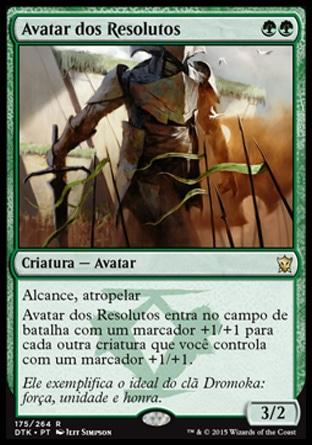 Avatar dos Resolutos / Avatar of the Resolute