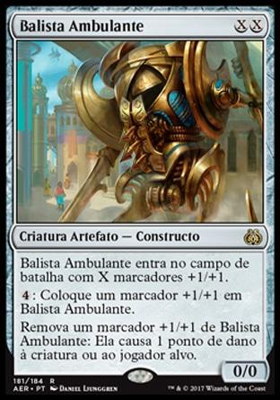 Balista Ambulante / Walking Ballista