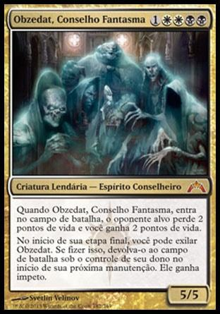 Obzedat, Conselho Fantasma / Obzedat, Ghost Council
