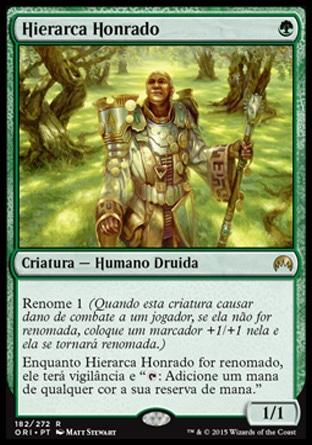 Hierarca Honrado / Honored Hierarch