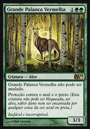 Grande Palanca Vermelha / Great Sable Stag