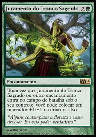 Juramento do Tronco Sagrado / Oath of the Ancient Wood