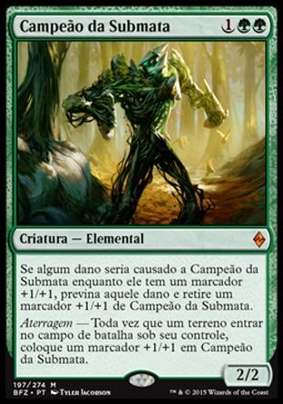 Campeão da Submata / Undergrowth Champion