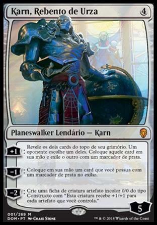 Karn, Rebento de Urza / Karn, Scion of Urza