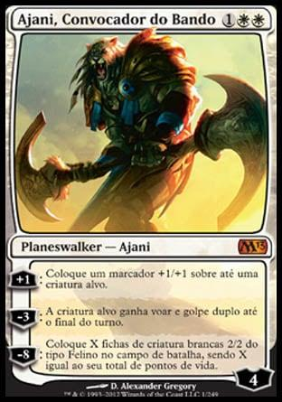 Ajani, Convocador do Bando / Ajani, Caller of the Pride