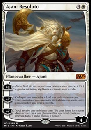 Ajani Resoluto / Ajani Steadfast