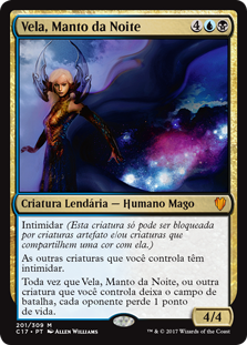 Vela, Manto da Noite / Vela the Night-Clad