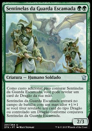 Sentinelas da Guarda Escamada / Scaleguard Sentinels