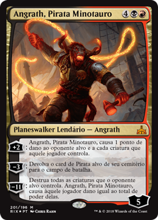 Angrath, Pirata Minotauro / Angrath, Minotaur Pirate