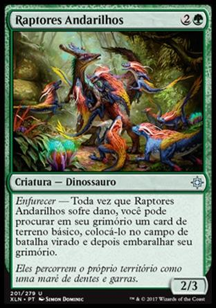 Raptores Andarilhos / Ranging Raptors