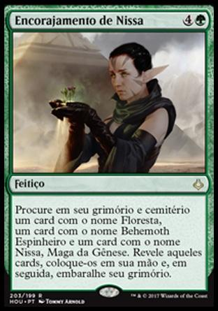 Encorajamento de Nissa / Nissa's Encouragement
