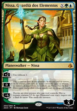 Nissa, Guardiã dos Elementos / Nissa, Steward of Elements