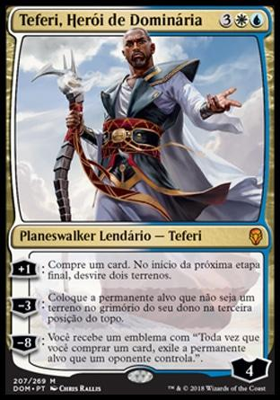 Teferi, Herói de Dominária / Teferi, Hero of Dominaria