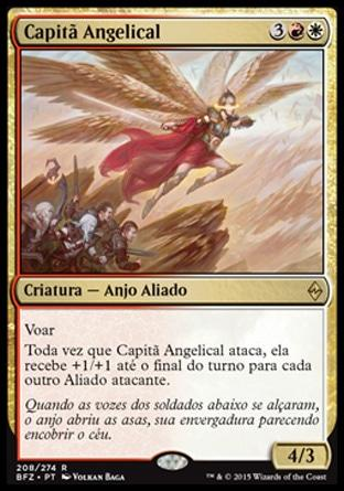 Capit;ã Angelical / Angelic Captain