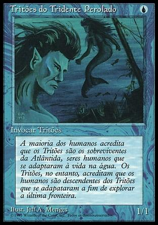 Tritões do Tridente Perolado / Merfolk of the Pearl Trident