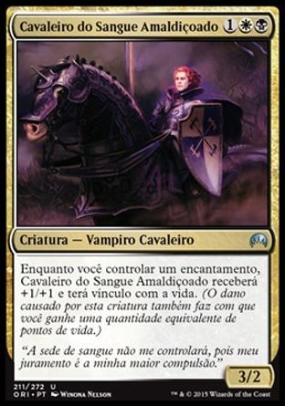 Cavaleiro do Sangue Amaldiçoado / Blood-Cursed Knight