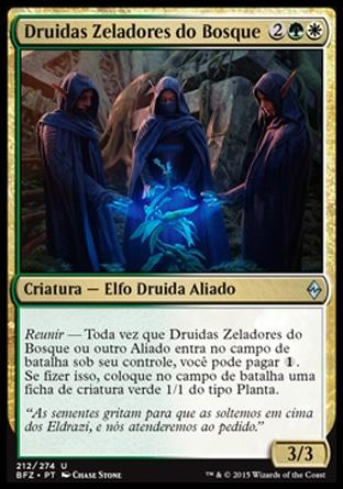 Druidas Zeladores do Bosque / Grovetender Druids