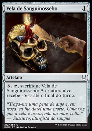 Vela de Sanguinossebo / Bloodtallow Candle