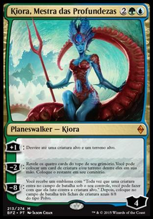 Kiora, Mestra das Profundezas / Kiora, Master of the Depths