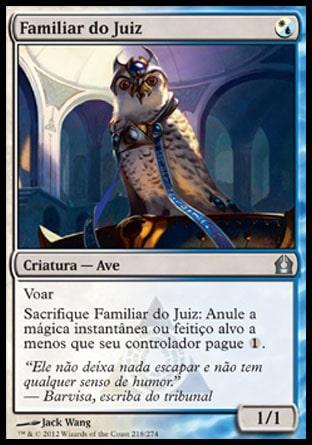 Familiar do Juiz / Judge's Familiar