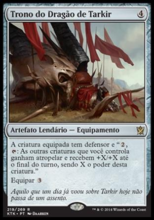 Trono do Dragão de Tarkir / Dragon Throne of Tarkir