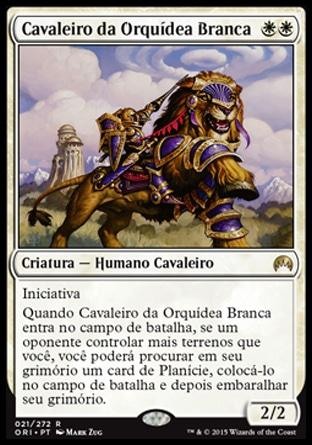 Cavaleiro da Orquídea Branca / Knight of the White Orchid