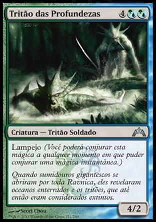 Tritão das Profundezas / Merfolk of the Depths