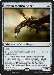 Dragão Avérneo de Aço / Steel Hellkite
