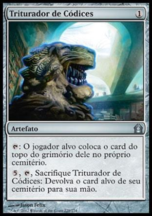 Triturador de Códices / Codex Shredder