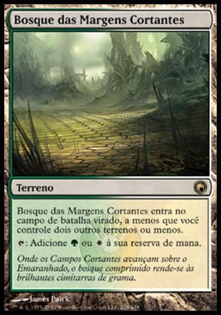 Bosque das Margens Cortantes / Razorverge Thicket