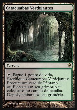 Catacumbas Verdejantes / Verdant Catacombs