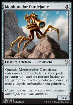 Monitorador Dardejante / Skittering Surveyor