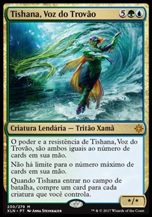 Tishana, Voz do Trovão / Tishana, Voice of Thunder