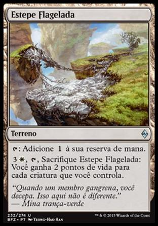 Estepe Flagelada / Blighted Steppe