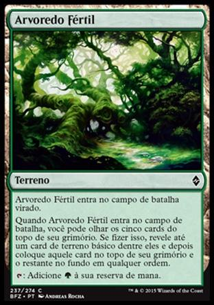 Arvoredo Fértil / Fertile Thicket