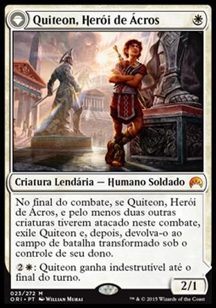 Quiteon, Herói de Ácros / Kytheon, Hero of Akros