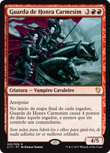 Guarda de Honra Carmesim / Crimson Honor Guard