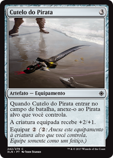 Cutelo do Pirata / Pirate's Cutlass