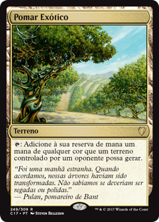 Pomar Exótico / Exotic Orchard